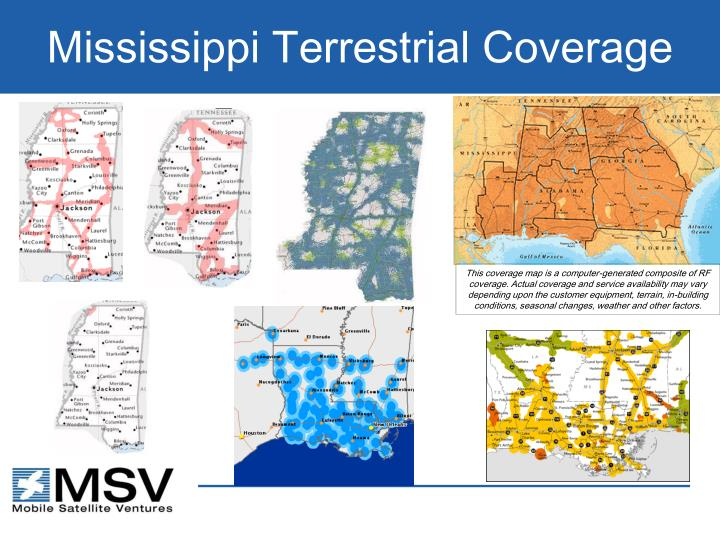 Mississippi Terrestrial Coverage