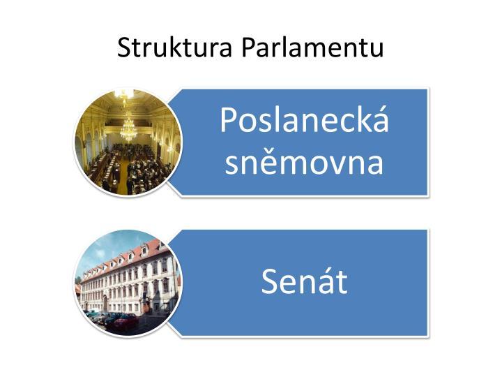 Struktura Parlamentu