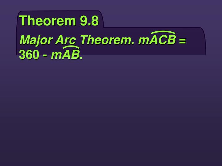 Theorem 9.8