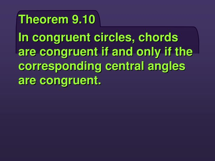 Theorem 9.10