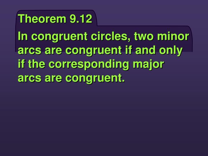 Theorem 9.12