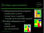 treemap representation