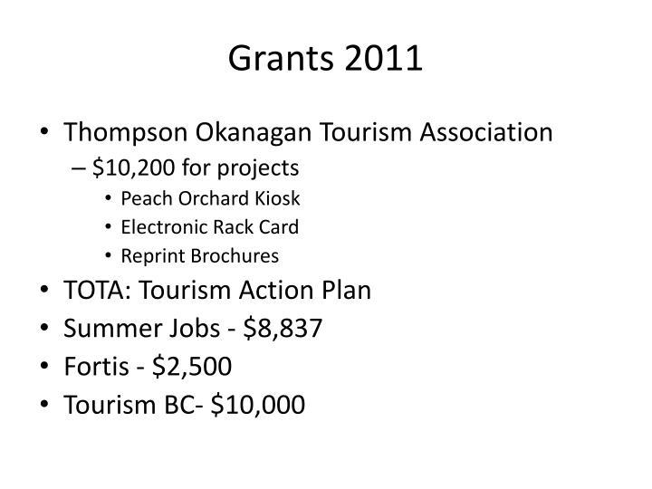 Grants 2011