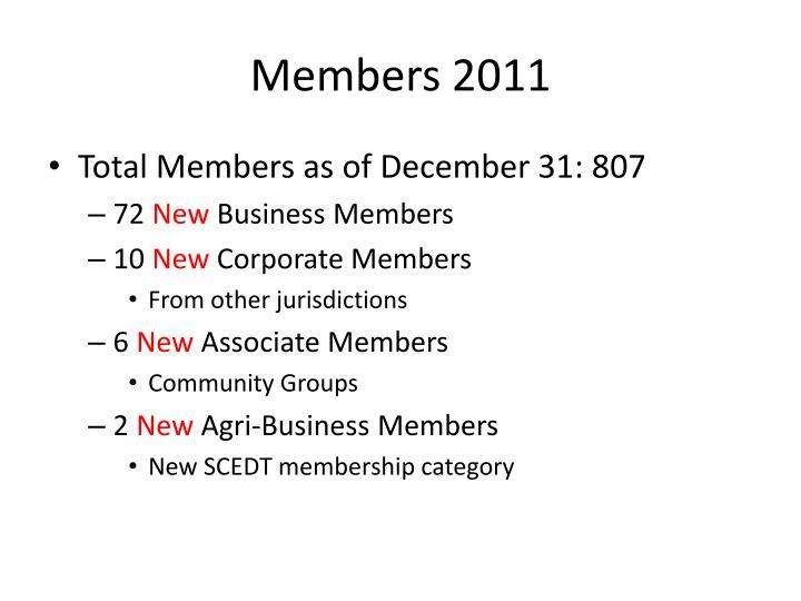 Members 2011