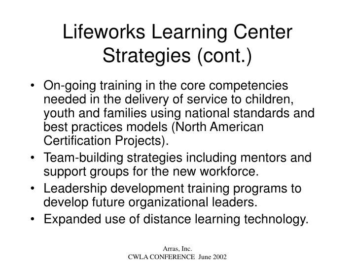 Lifeworks Learning Center