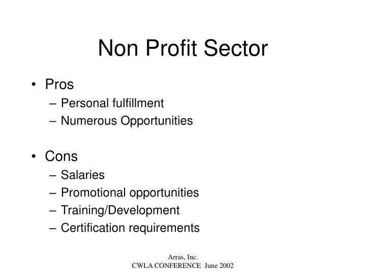 Non Profit Sector