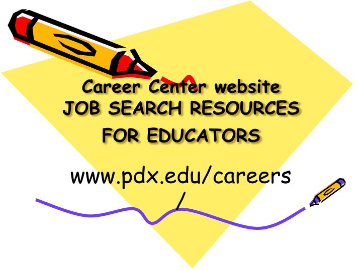 Career Center website