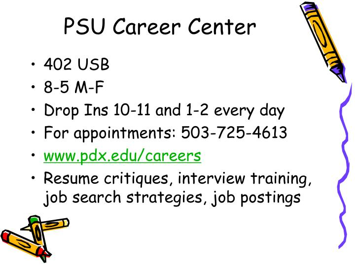 PSU Career Center