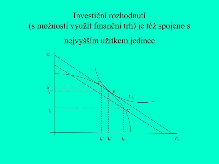 Investiční rozhodnutí