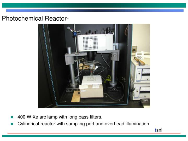 Photochemical Reactor-