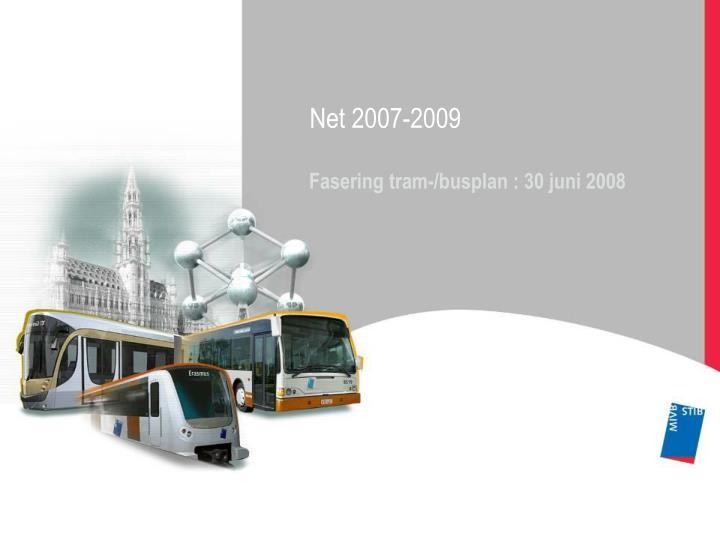 Net 2007-2009