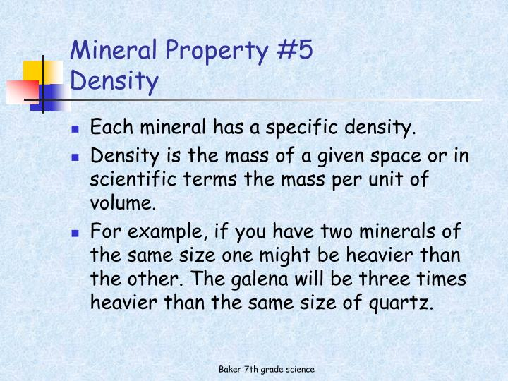 Mineral Property #5