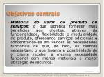 objetivos centrais1