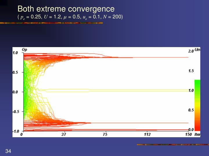 Both extreme convergence