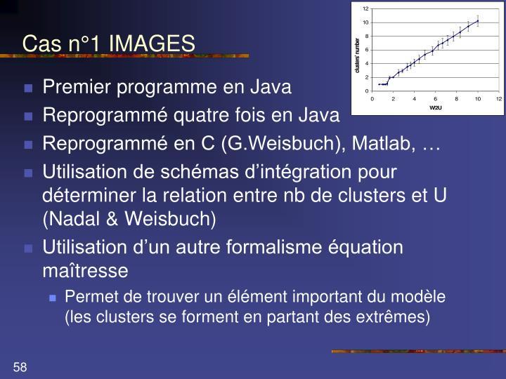 Cas n°1 IMAGES