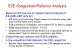 e2e congestion failures analysis