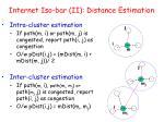 internet iso bar ii distance estimation