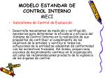 modelo estandar de control interno meci11