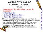 modelo estandar de control interno meci12