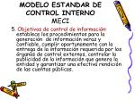 modelo estandar de control interno meci2