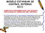 modelo estandar de control interno meci5