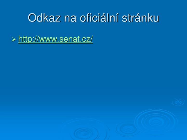Odkaz na oficiální stránku