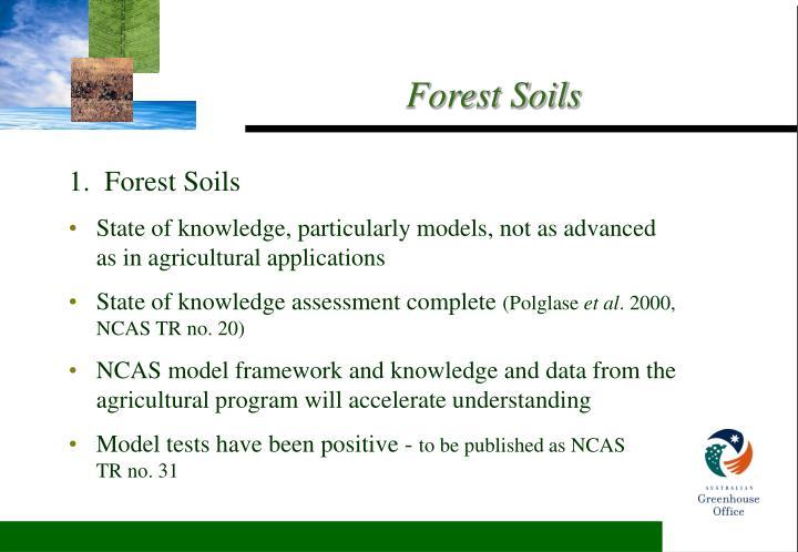 1.  Forest Soils