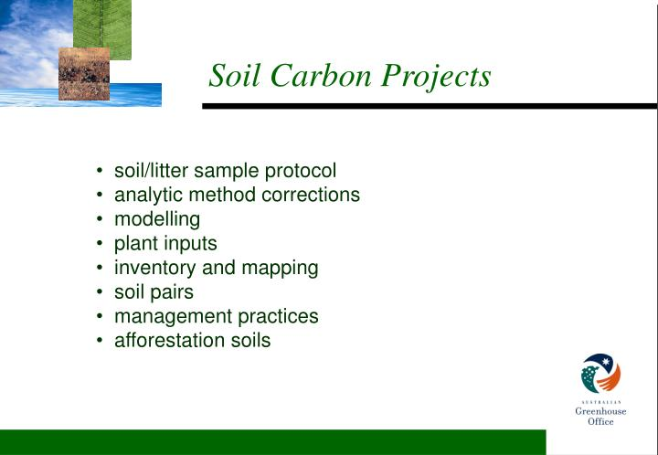 Soil Carbon Projects