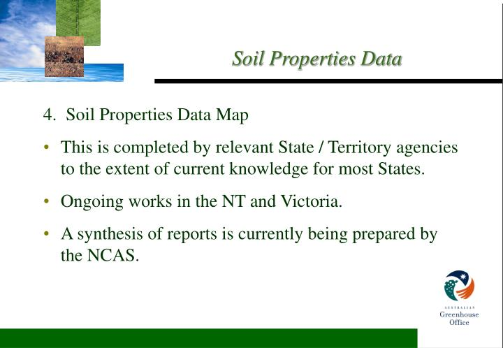 4.  Soil Properties Data Map