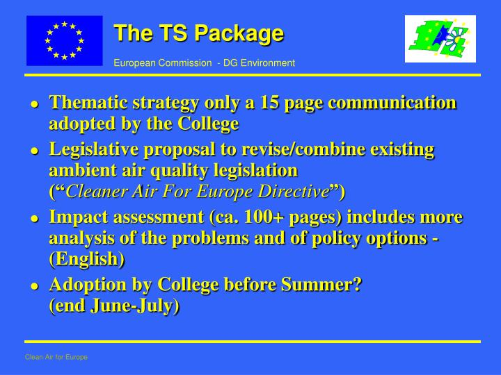 The TS Package