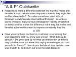 a p quickwrite