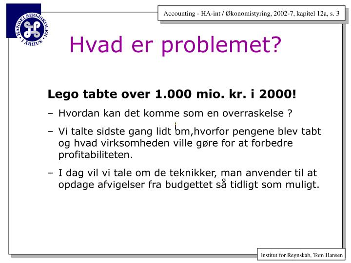 Lego tabte over 1.000 mio. kr. i 2000!