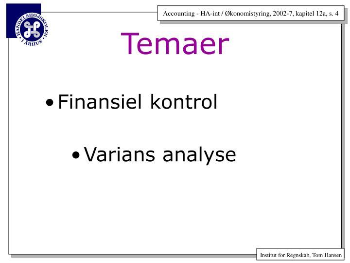 Finansiel kontrol