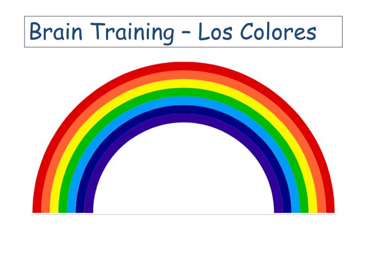 Brain Training – Los Colores