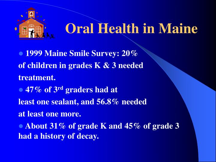 Oral health in maine
