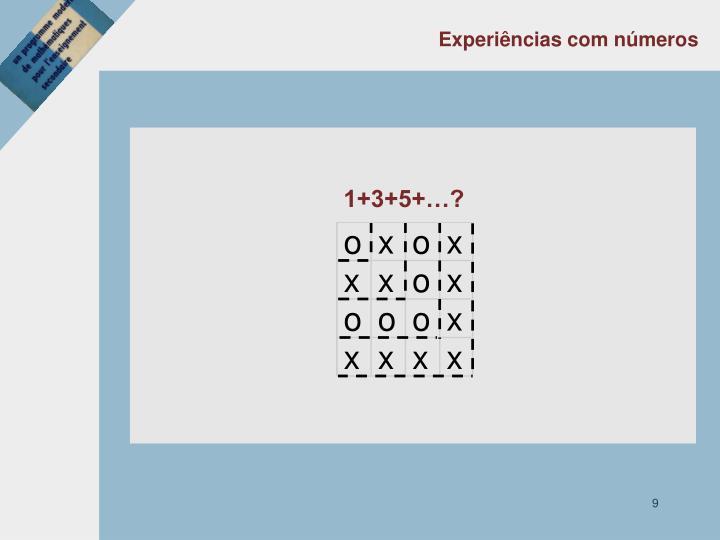 Experiências com números