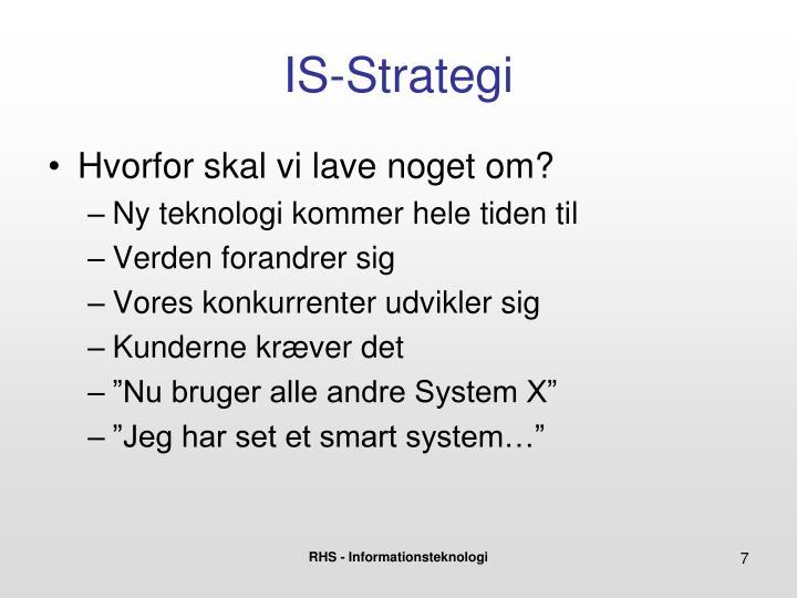 IS-Strategi