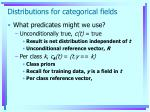 distributions for categorical fields4