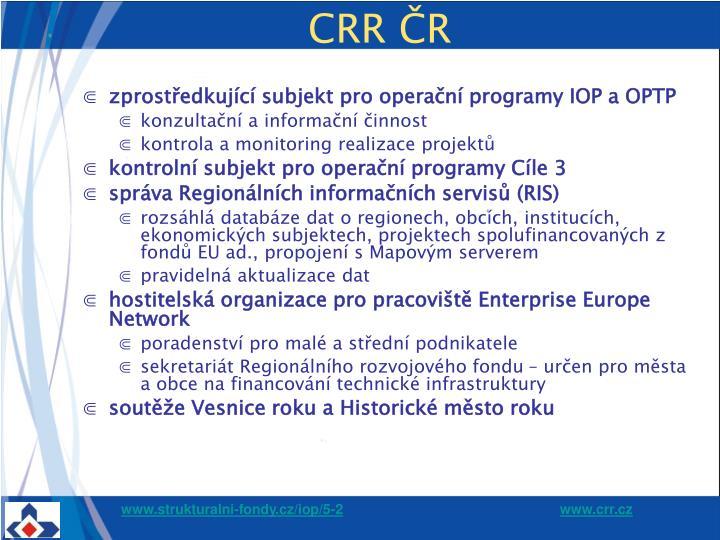 CRR ČR