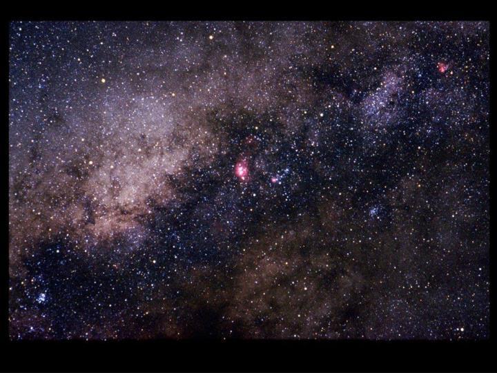 Milky Way from Australia
