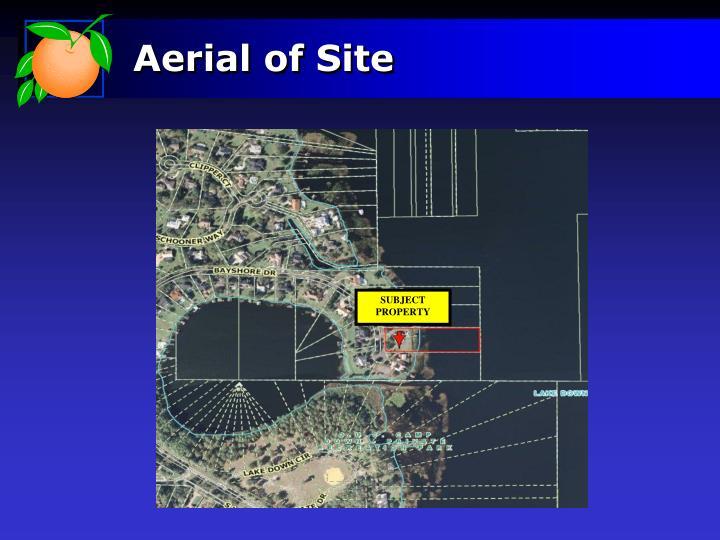 Aerial of Site