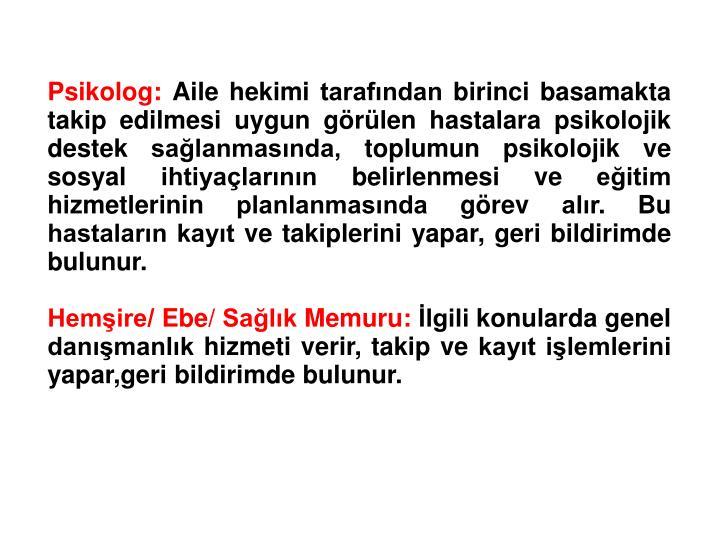 Psikolog: