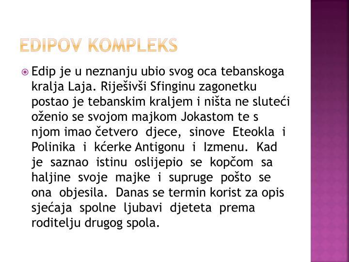 EDIPOV KOMPLEKS