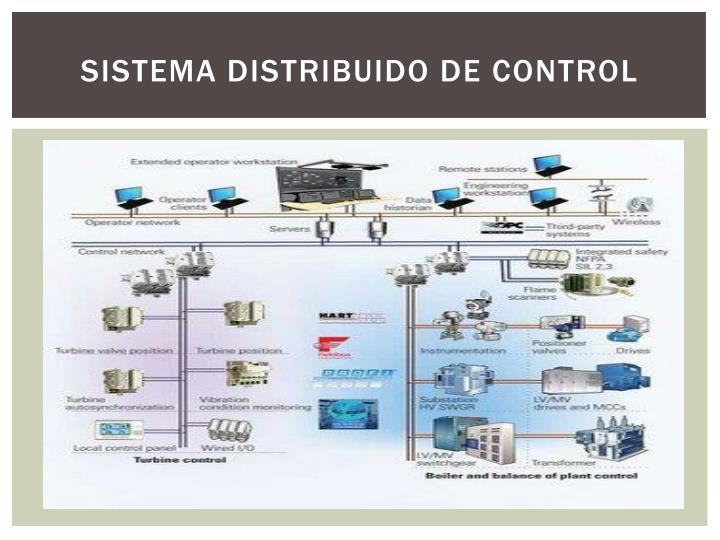 SISTEMA DISTRIBUIDO DE CONTROL