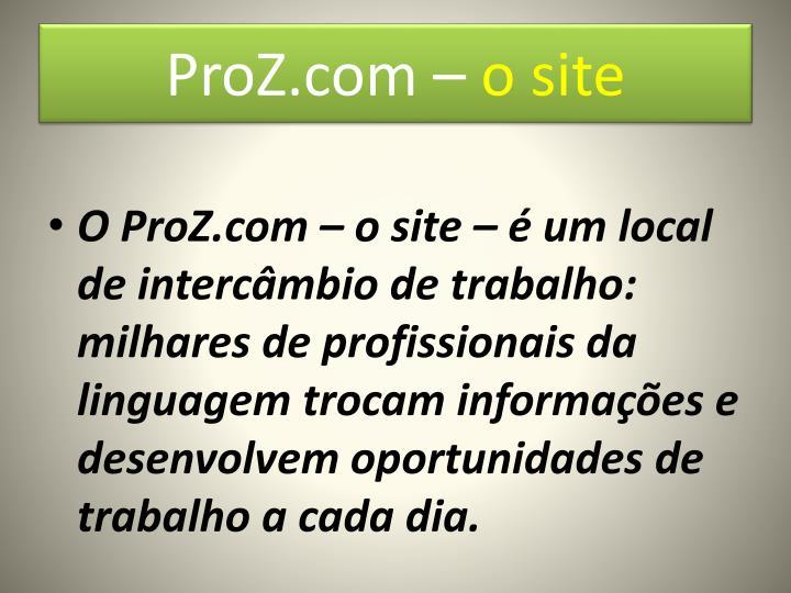 ProZ.com –