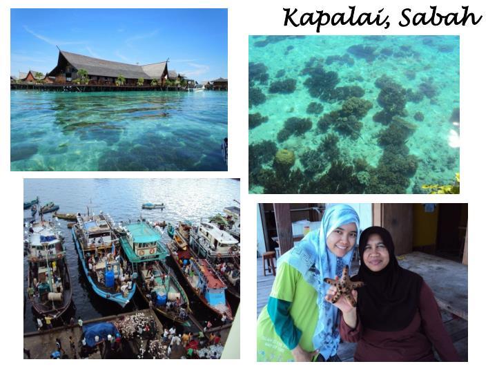 Kapalai, Sabah