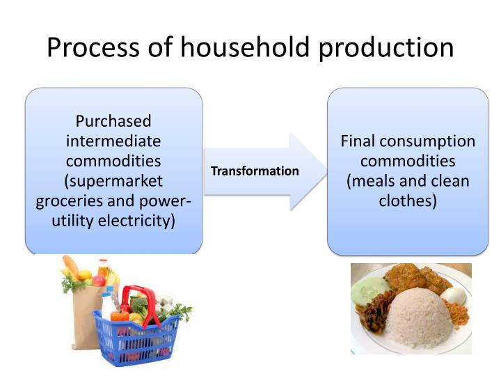 Process of household production