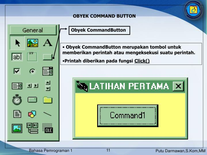 Obyek CommandButton