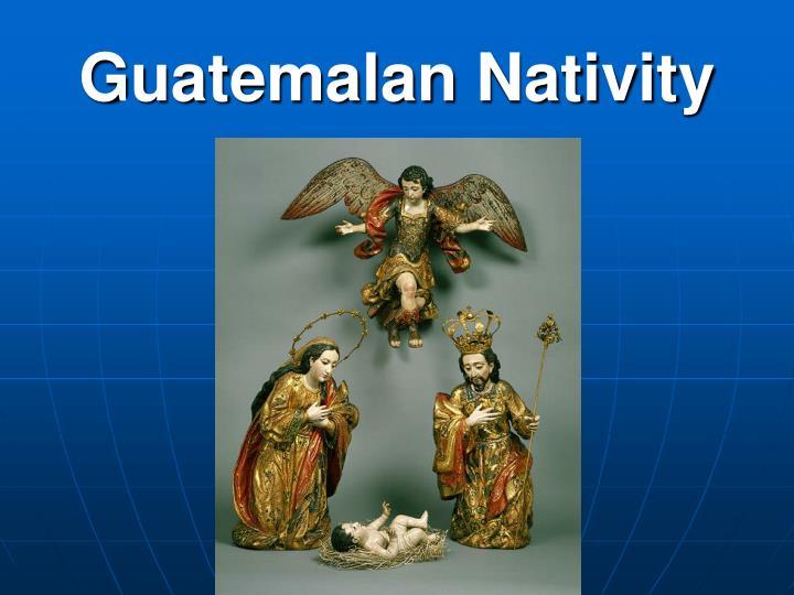 Guatemalan Nativity