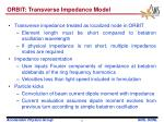orbit transverse impedance model